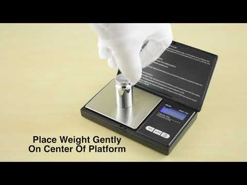 How To Calibrate AWS-100 Scale ?? - American Weigh Scales