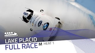 Lake Placid | BMW IBSF World Cup 2018/2019 - 4-Man Bobsleigh Heat 1 | IBSF Official