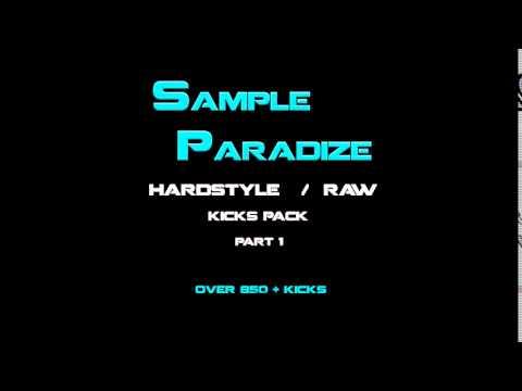sampleparadize - hardstyle / raw sample pack part 1  OVER 850 + KICKS ( 2016 )
