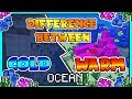 Differences Between Cold and Warm Ocean Biome | Minecraft Short Video