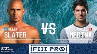Kelly Slater vs. Gabriel Medina - Fiji Pro 2016 Semifinals