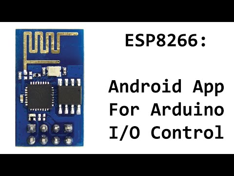 ESP8266 Android App To Control Arduino Digital Pins and Toggle LEDs