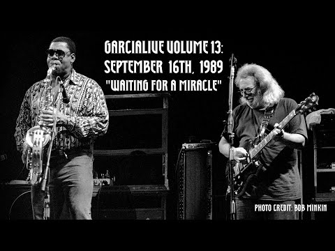"""Jerry Garcia Band - """"Waiting for a Miracle"""" ft. Clarence Clemons - GarciaLive Volume 13"""