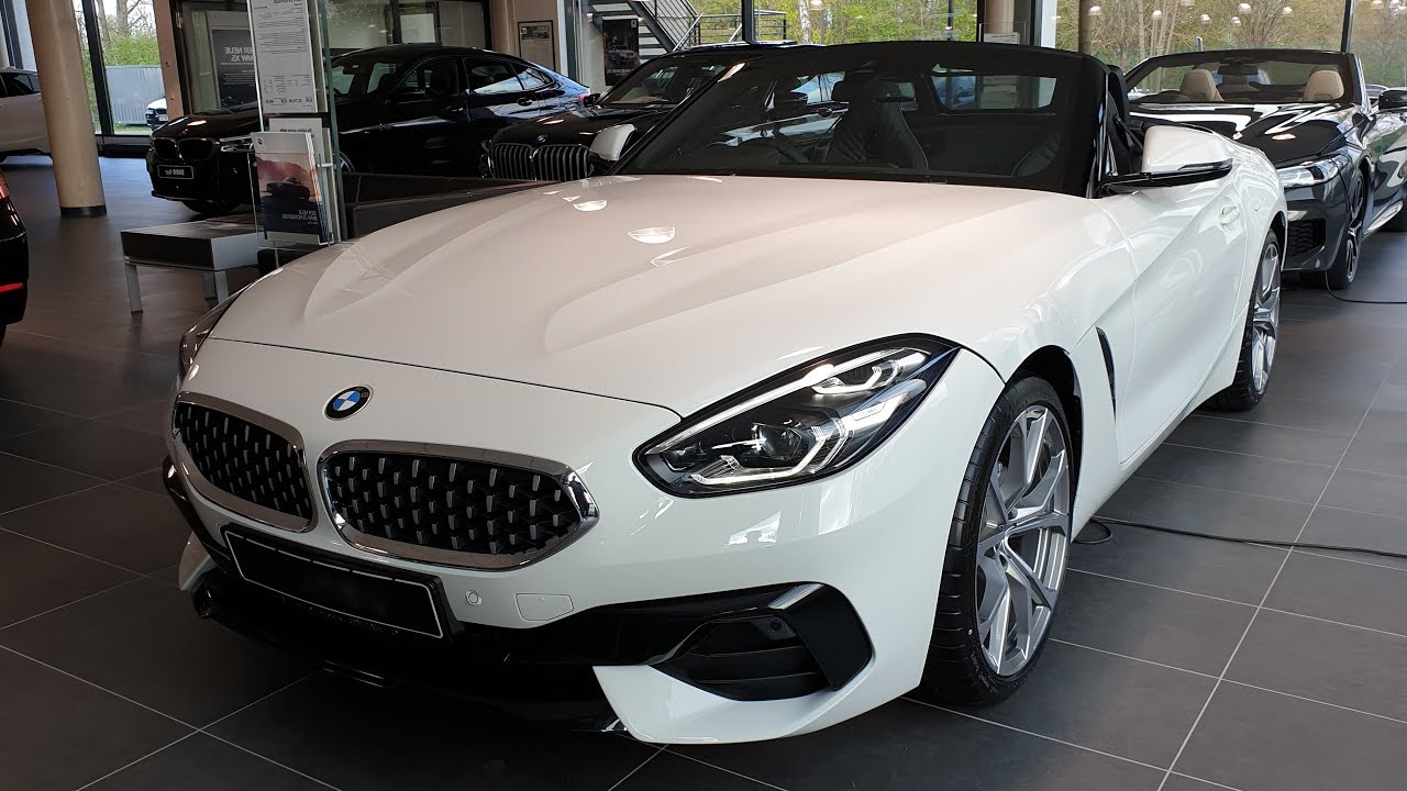 2019 Bmw Z4 Sdrive20i Modell Sport Line Youtube