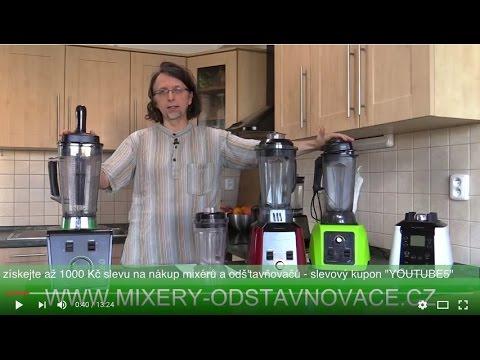 Srovnání mixérů ETA Vital Blend a Perfect smoothie