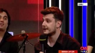 Ekin Uzunlar'ın taklitleri stüdyoyu kırdı geçirdi  (CNNTÜRK-Burada Laf Çok) Video