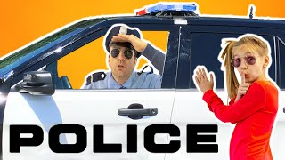 Amelia and a fun cop story for kids