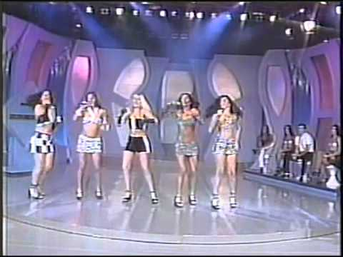 Grupo Banana Split no Raul Gil (1998)