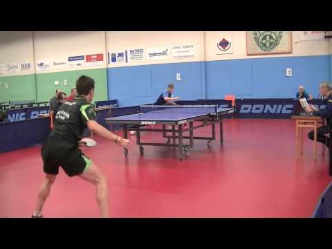 Count It! Around-The-Net Backhand Ping-Pong Shot Is Amazing