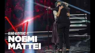 "Noemi Mattei ""Strong"" - Blind Auditions #1 - TVOI 2019"
