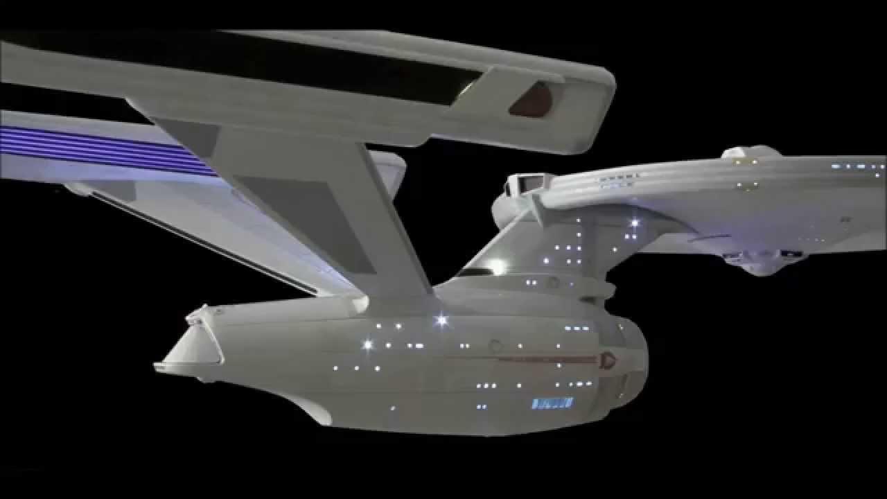 USS ENTERPRISE Refit 1/350 Lighting Kit