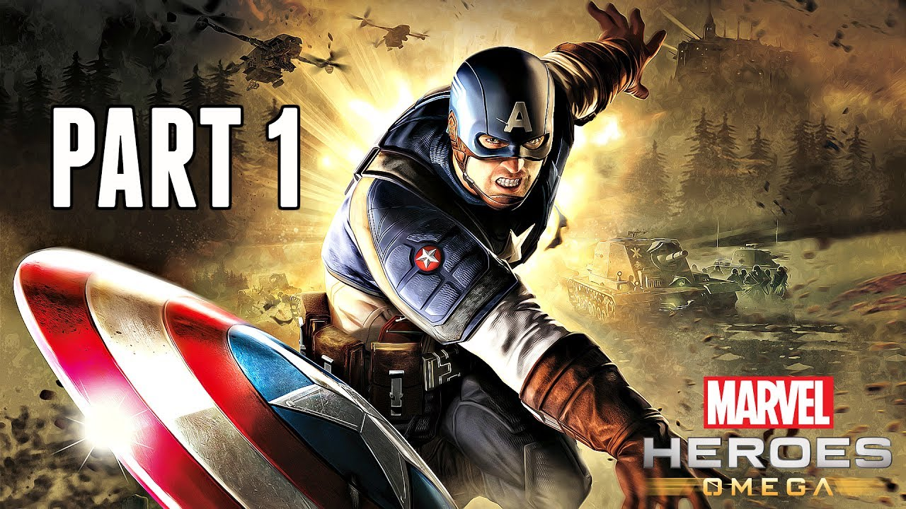 Marvel Heroes Omega Walkthrough Part 1 - Captain America & Intro (Ps4 Pro  Gameplay HD)