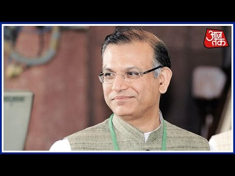 Minister of State For Finance Jayant Sinha On Demonetization