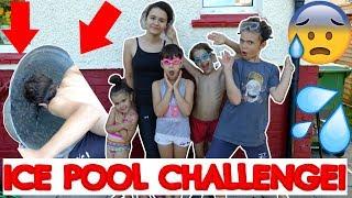 ICE POOL CHALLENGE!❄ #27 VLOG