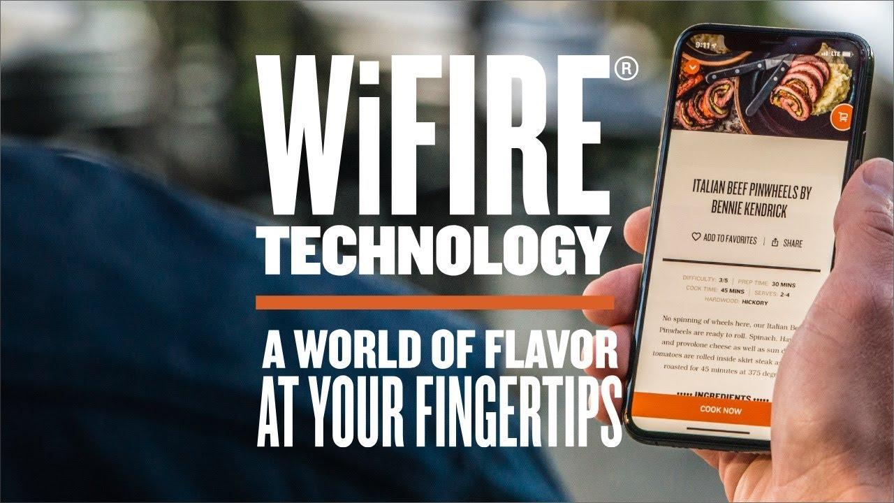 Traeger WiFIRE - WiFi Pellet Grills