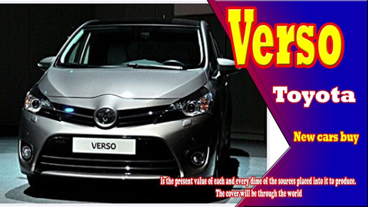Toyota Verso Nieuw Model >> 2019 Toyota Verso 2019 Toyota Verso Usa 2019 Toyota Verso Mpv