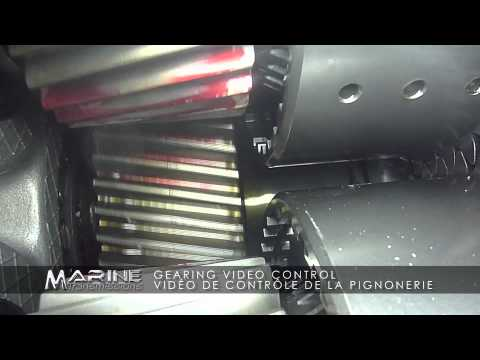 Marine Transmissions-Video controle pignonerie - Gearing Video Control