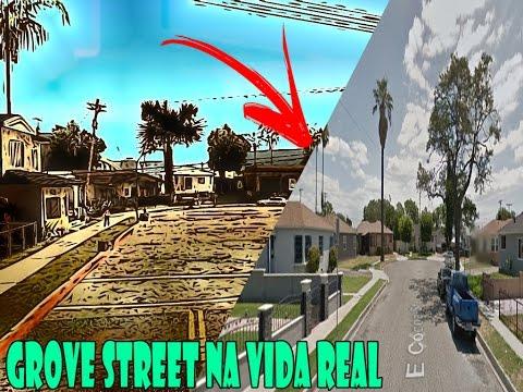 Grove Street na vida real(Compton CA) - YouTube
