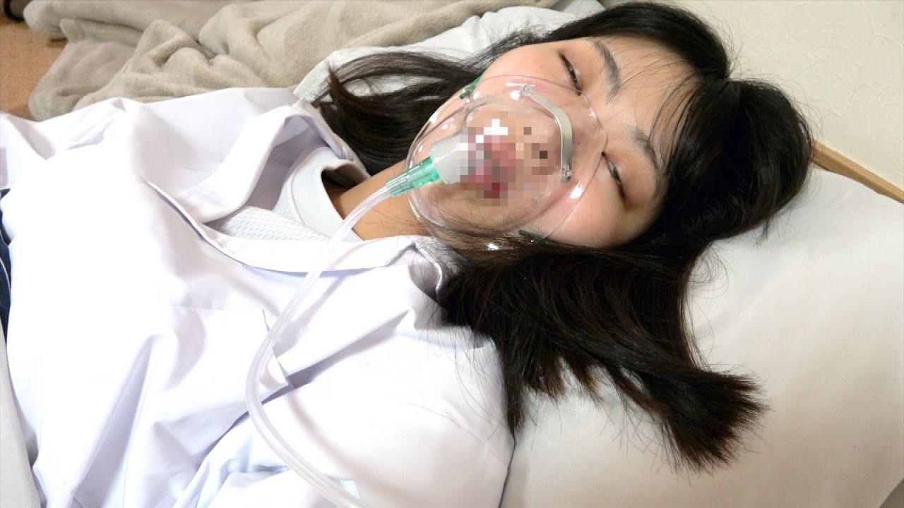 まいが病気になりました。緊急入院
