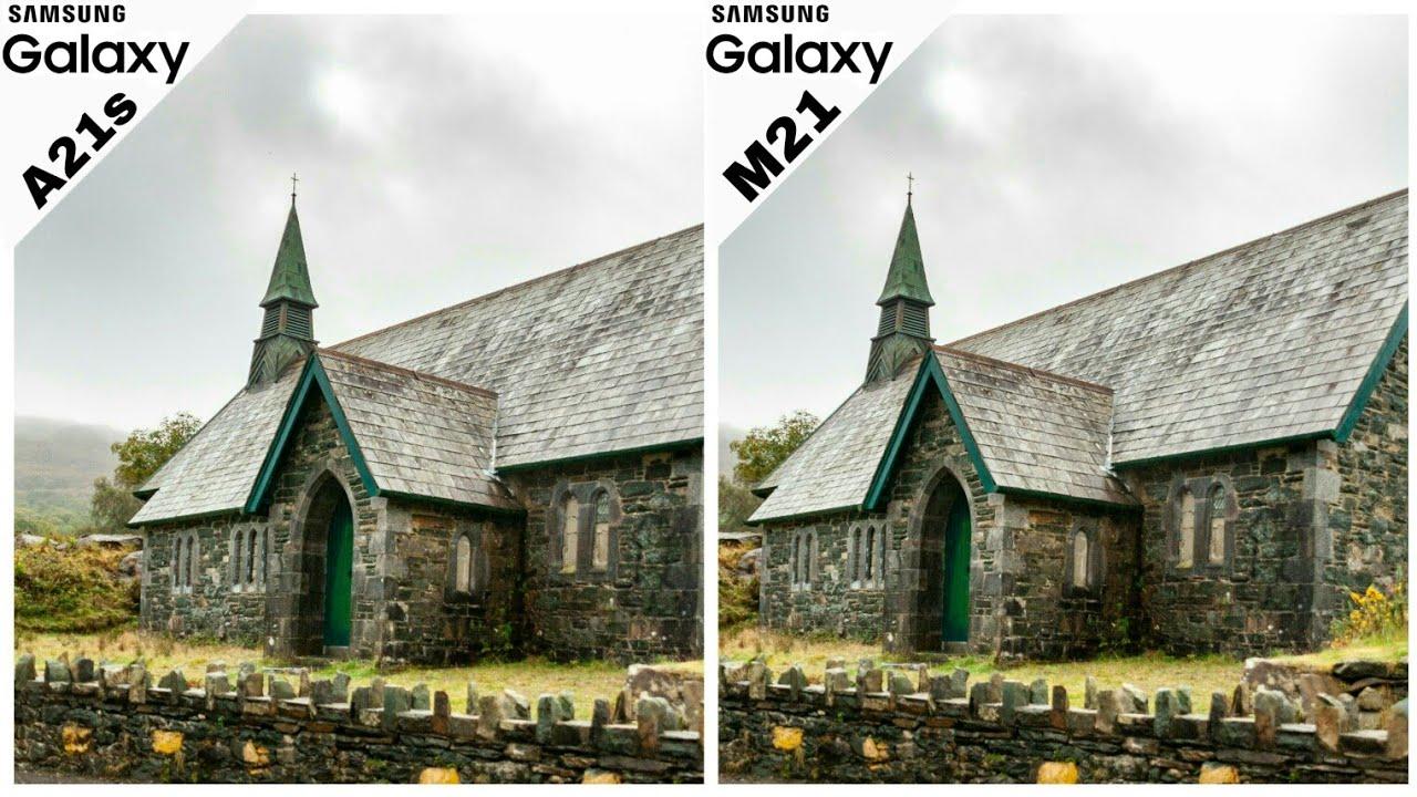 video Samsung Galaxy A21s