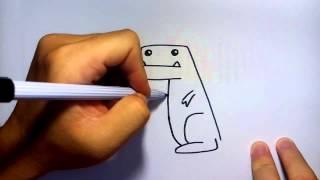 วาดการ์ตูน กันเถอะ สอนวาดรูป การ์ตูน มังกร ง่ายๆ