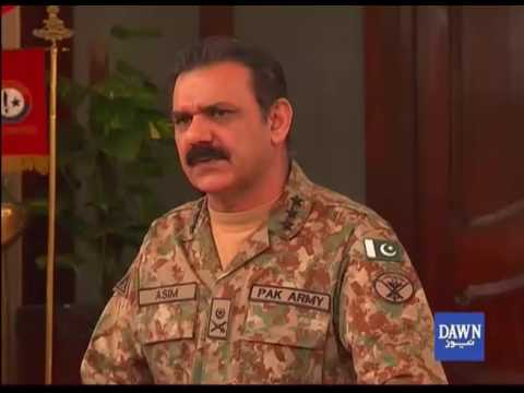 DG ISPR Asim Bajwa media briefing in Peshawar