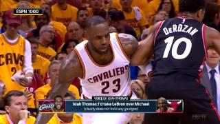 STL: Isaiah Thomas would take LeBron over MJ