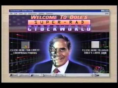 Conan and Andy Visit Bob Dole's Website (1996-10-22)