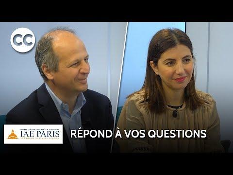 IAE Paris - Sorbonne Business School - Master Contrôle de gestion et Audit organisationnel