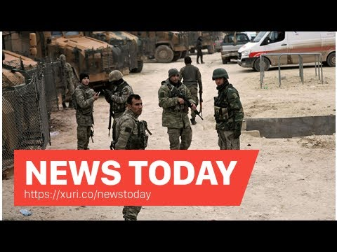 News Today - Syrian Kurdish forces launch a strong counterattack against Turkey