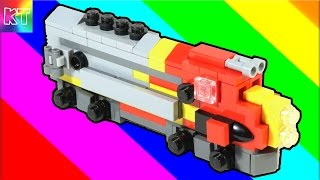 Lego Mini Diesel Train Santa Fe Cars for Kids Speed Build Review