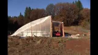 Passive Solar Aquaponic Greenhouse Tour 2