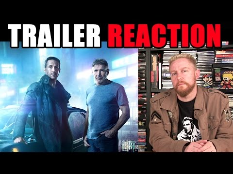 BLADE RUNNER 2049 - Official Trailer (REACTION) - Happy Console Gamer
