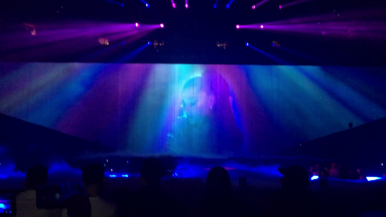 Baby Loves Interlude Ariana Grande Dangerous Woman Tour Dallas