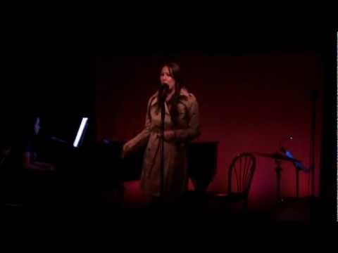 """Julie Thomas sings Natalie's song """"I've Got the Radio On"""" at the Duplex. Natalie Lovejoy on piano."""