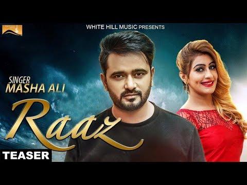 Raaz ( Teaser) | Masha Ali | White Hill Music | Releasing on 28th April