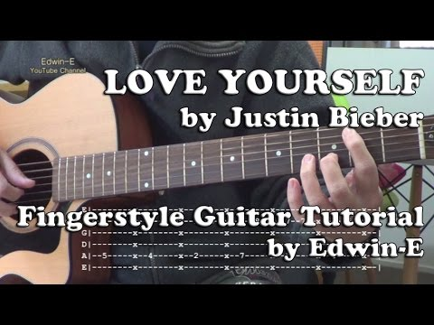 Guitar guitar tabs love yourself : Love Yourself (Justin Bieber) Fingerstyle Guitar Tutorial Cover ...