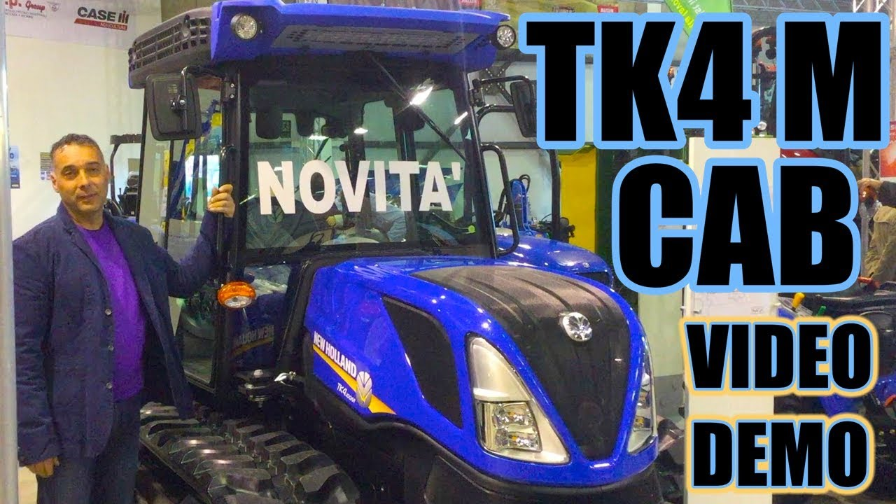 New Holland TK4 M CAB Series Video Demo