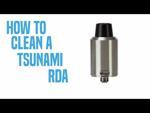 How to clean a Tsunami RDA