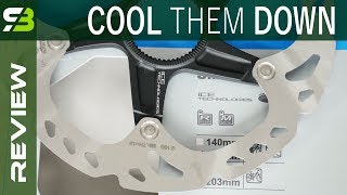 Bicycle Disc Brakes - How To Prevent Overheating. Ice Technologies, Pads With Fins...