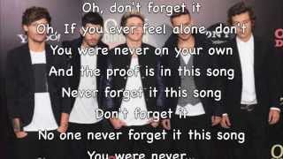 One Direction- Don t Forget Where You Belong