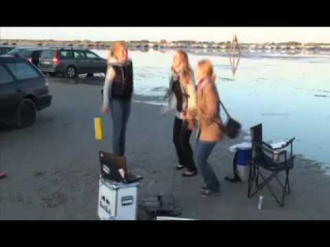 Kitesurf World Cup Sankt Peter-Ording 2009 - Red Bull Invasion (Karaoke, Slider Action, Party)