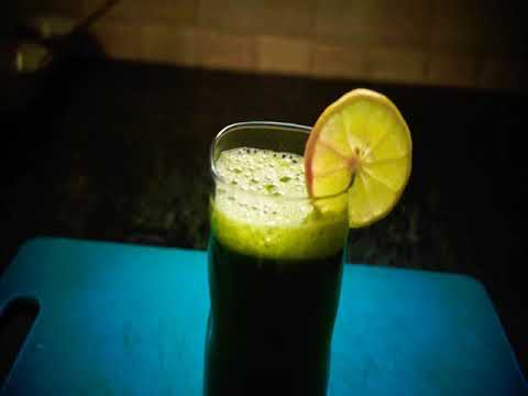 Mint coriander juice | healthy diet | detox drink | weightloss and purification | healthy lifestyle
