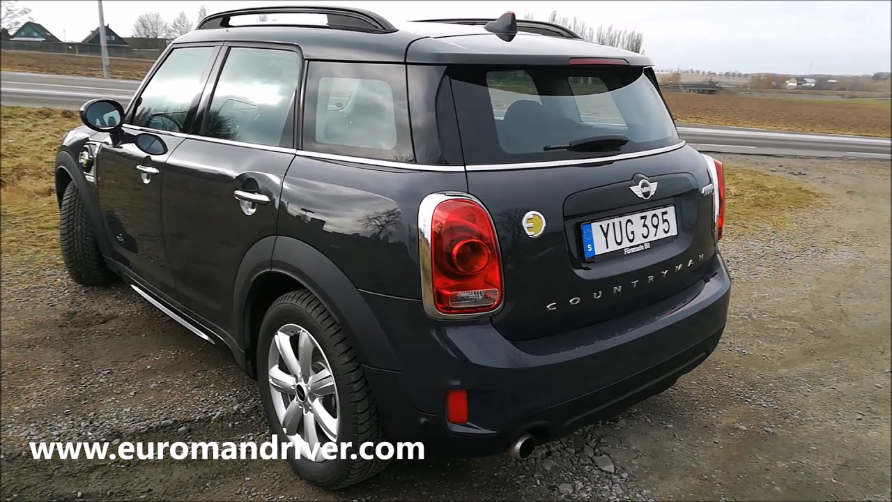 New 2018 Mini Countryman Cooper S Plug In Hybrid Test Drive Review