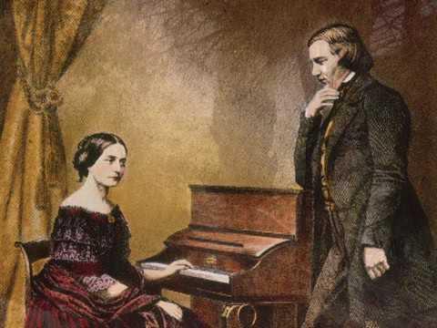 Pia Segerstam plays Schumann Adagio & Allegro (Ch. Sirodeau, piano)