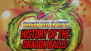 History of the Dragon Balls