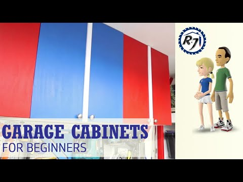 Poor Man's DIY Projects: Building Garage Cabinets for Beginners