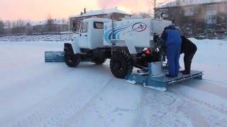 видео машина для льда
