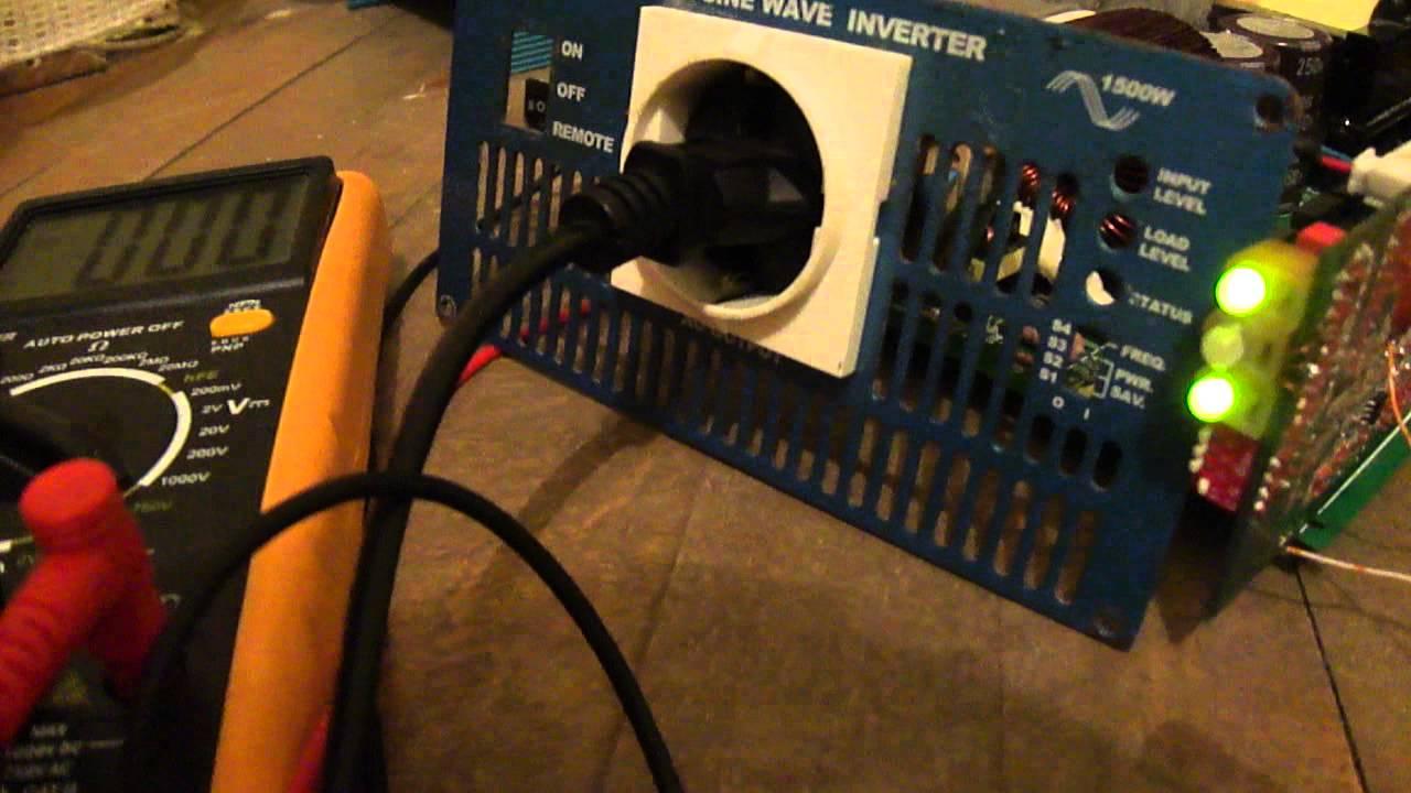 cotek sk1500 inverter repair youtube rh youtube com BMS Inverter Aims Inverter