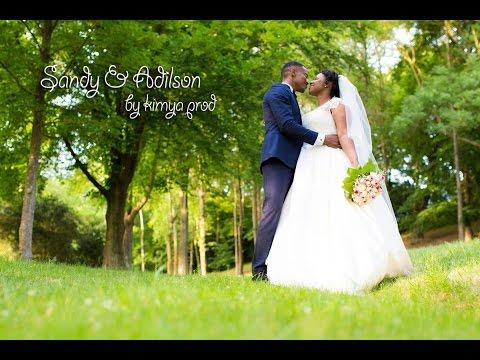Sandy & Adilson Mariage Capverdien au Domaine Grand'Maison à Villepreux